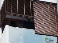 High Quality Outdoor PVC Wooden Blinds, Singapore