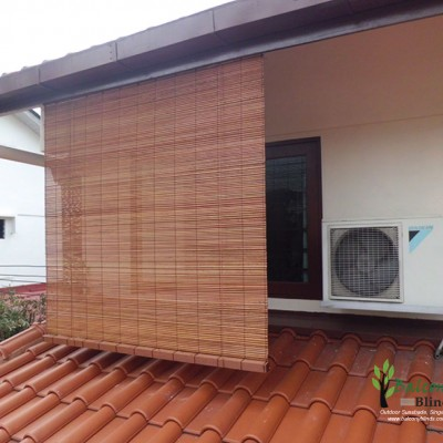 Outdoor Bamboo Blinds Gallery Balconyblinds Singapore