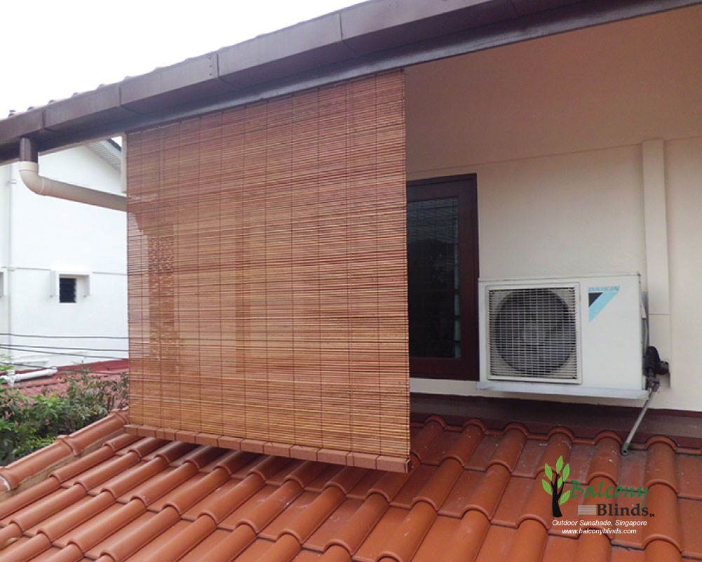 Outdoor Bamboo Blinds Singapore Balconyblinds