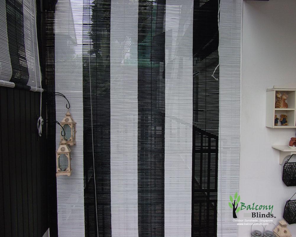 Outdoor Bamboo Blinds Singapore Balconyblinds