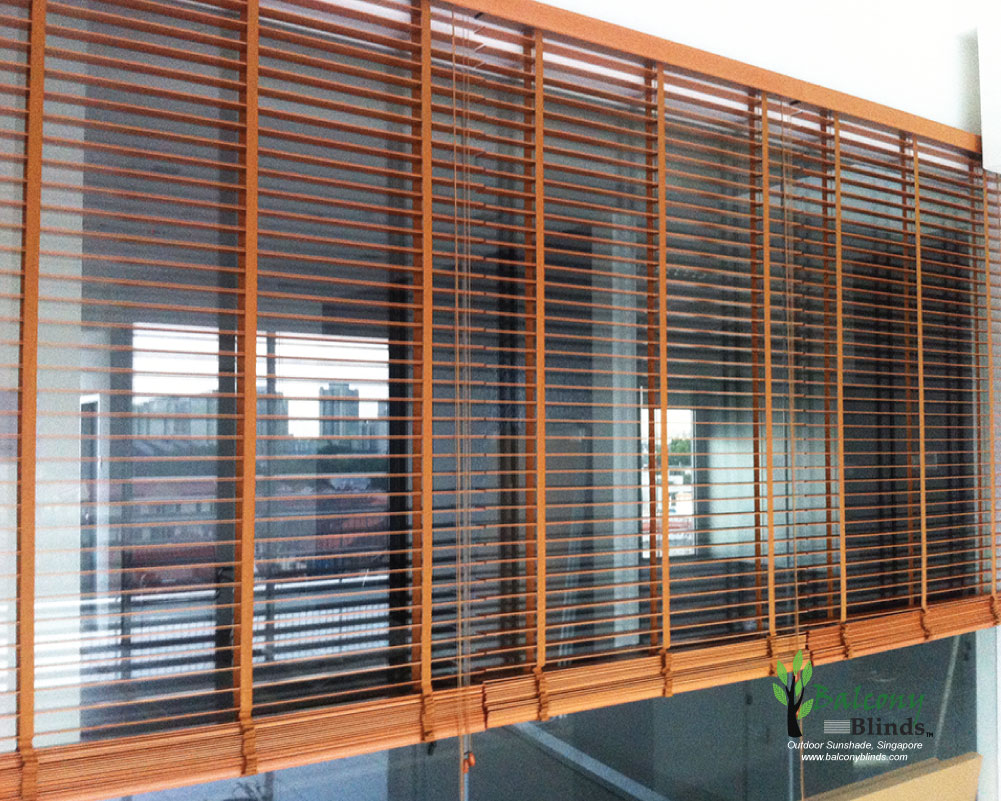 Window blinds kah huat textile co - Green Balcony Singapore Best Design Ideas Latest Outdoor Roller Blinds