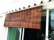 Outdoor Bamboo Chick Blinds for Outside Room, Outdoor Blinds Singapore