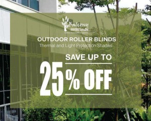 Outdoor Blinds Promotion Singapore