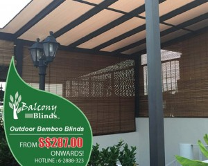 Outdoor Blinds Promotion