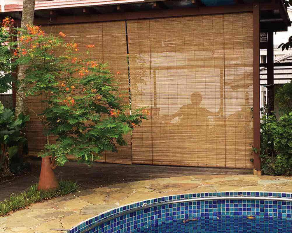 Balcony Outdoor Blinds Shades : Gallery | BALCONYBLINDS for Bamboo Curtains For Balcony  110zmd