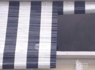 Black and White Outdoor Bamboo Chick Blinds for HDB Balcony at Woodlands Ave. 1, Outdoor Blinds, Outdoor Blinds Singapore