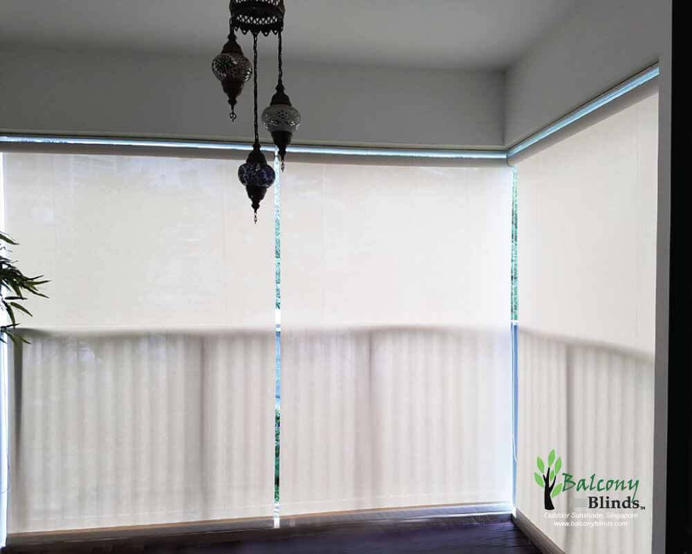 Window blinds kah huat textile co - Balcony Blinds Best Design Ideas Latest