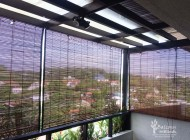 Outdoor Bamboo Chick Blinds for Balcony Condo, Outdoor Blinds Singapore