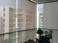 Outdoor Roller Blinds for Condo Balcony, The Gale, Outdoor Blinds Singapore