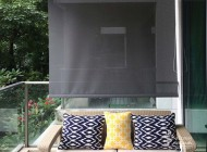 Outdoor Roller Blinds for Condo at Quinterra, Outdoor Blinds Singapore
