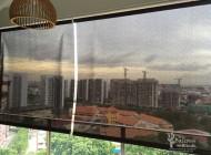 Outdoor Roller Blinds for Condo Balcony, Oasis Garden, Outdoor Blinds Singapore