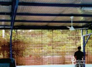 Outdoor Shades Protection for Open Space Roof Terraces.