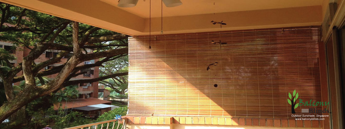 Outdoor Bamboo BalconyBlinds