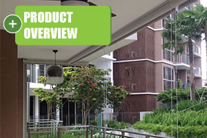 overview of outdoor balcony blinds singapore