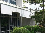 Outdoor Roller Blinds for Condo Balcony, Q Bay Residences Singapore