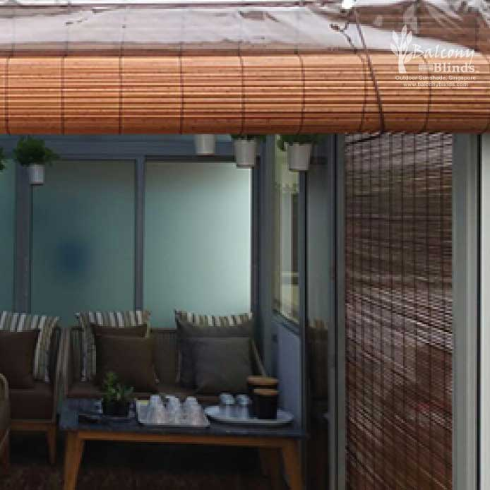 Outdoor Bamboo Chick Blinds