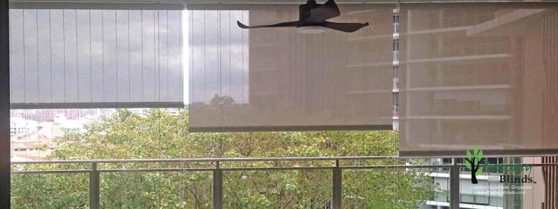 Outdoor Roller BalconyBlinds