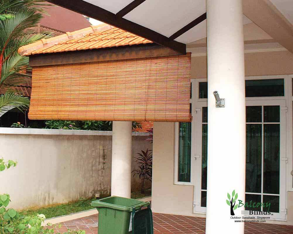 Outdoor Sunshade Singapore Balconyblinds