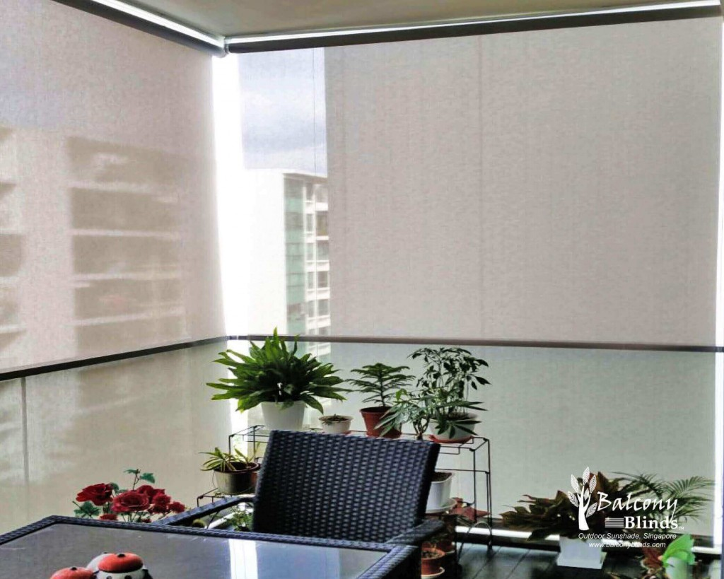 Outdoor Roller Blinds For Condo Balcony Singapore