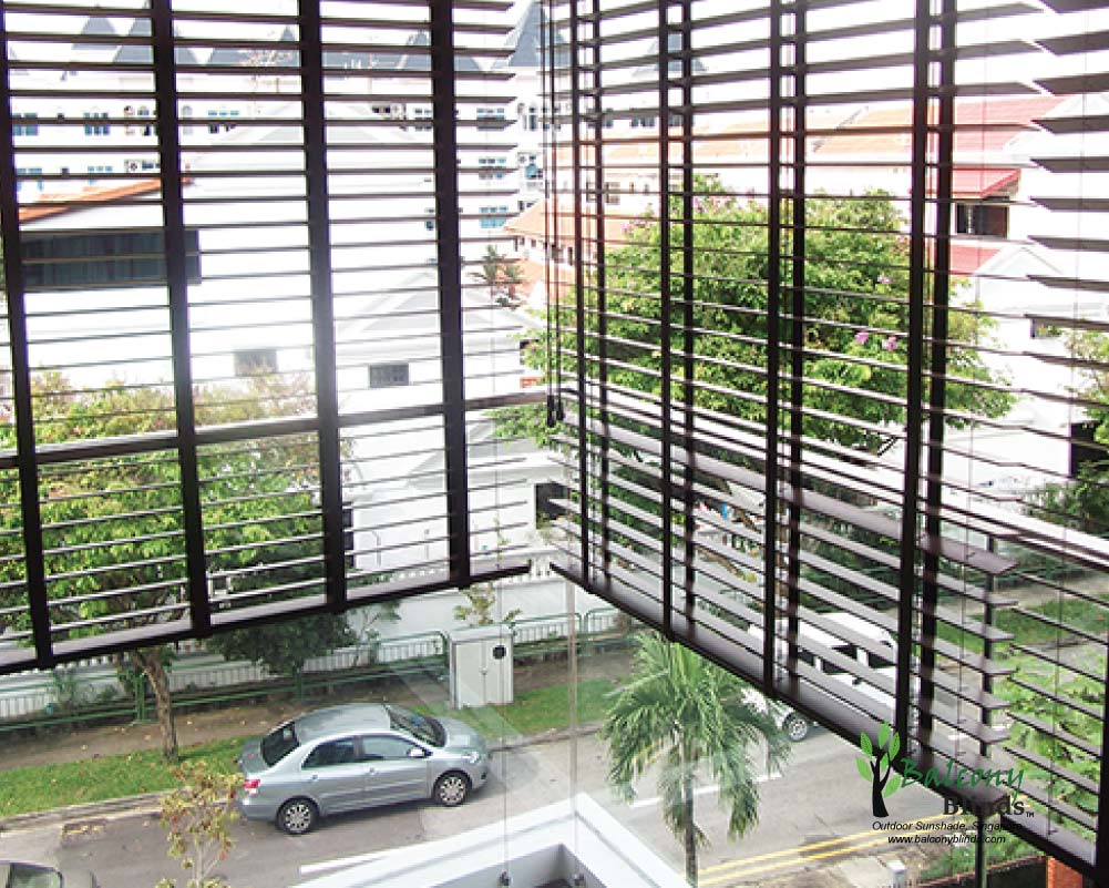 Benefits of Outdoor PVC Wooden Blinds, Singapore