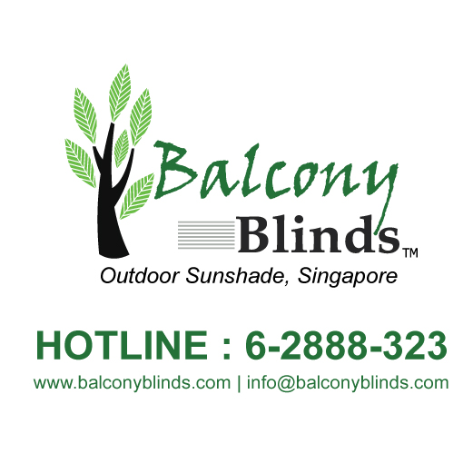 Outdoor Balcony Blinds Singapore