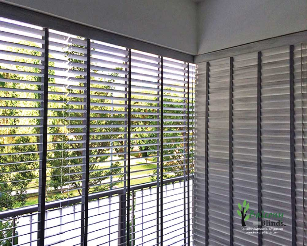 Outdoor Roller Blinds For Hdb Apartment Balcony Tampines Central 8 Singapore