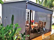 Outdoor Roller Blinds for Home Backyard, Outdoor Blinds Singapore