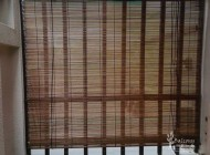 Outdoor Bamboo Blinds for Landed House Balcony at Wareham Road, Outdoor Blinds Singapore