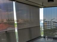 Outdoor Roller Blinds for Condominium Balcony, Kovan Regency, Outdoor Blinds Singapore
