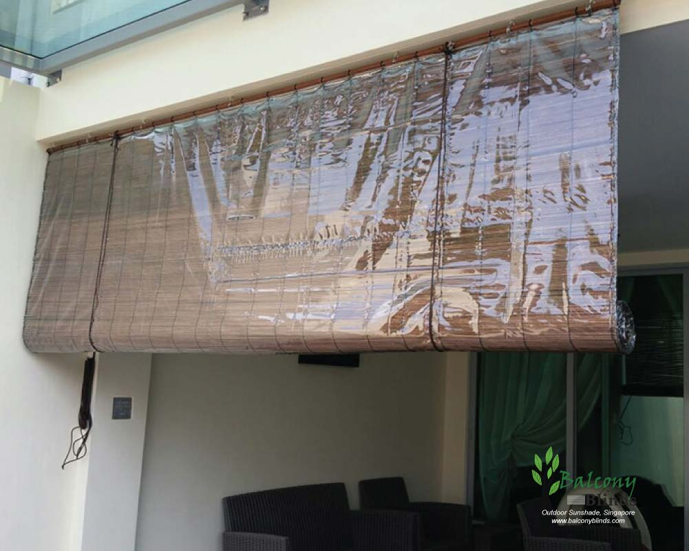 Outdoor Bamboo Blinds Gallery
