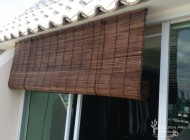 Outdoor Bamboo Chick Blinds for Condominium Balcony, Outdoor Blinds Singapore
