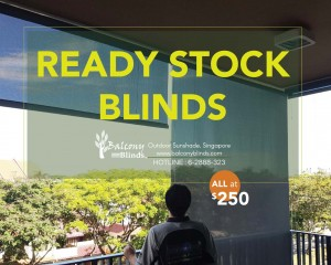 Ready Made Blinds Singapore - Balcony Blinds Singapore