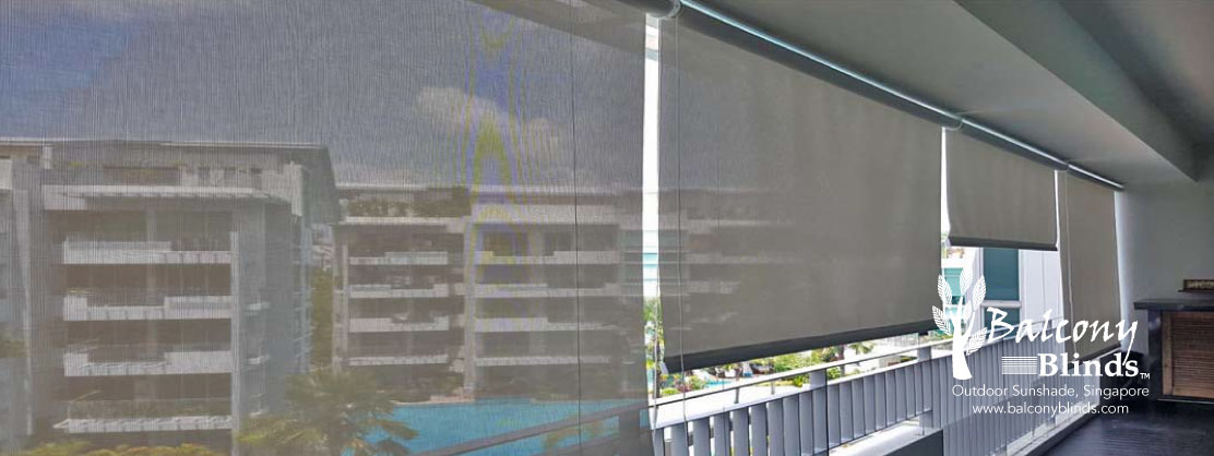 Outdoor PVC Roller Blinds
