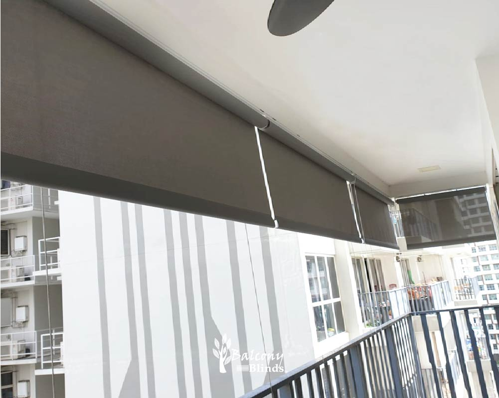 Outdoor PVC Roller Blinds