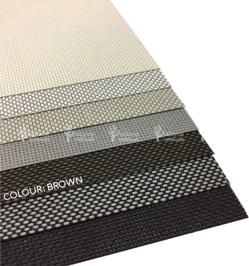 Blind Fabric Color Brown