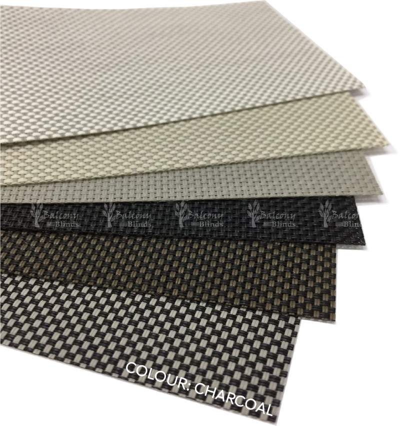 Blind Fabric Color Charcoal